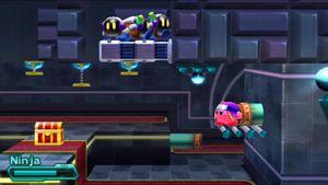 Også Kirby har begynt å se nytten i reising via rør.