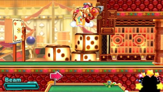I en robot blir Kirby mer eller mindre ustanselig.