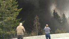 Geologer kritiserer Vegvesenet etter tunnelbrann