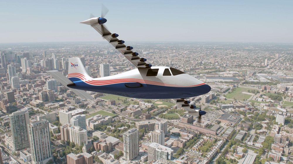 Eldrift gir muligheten til å plassere propellene på en annen måte enn dersom det var forbrenningsmotorer.