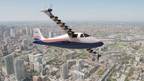 Bygger 14 elmotorer inn i vingen - nå kommer det bemannede X-fly igjen