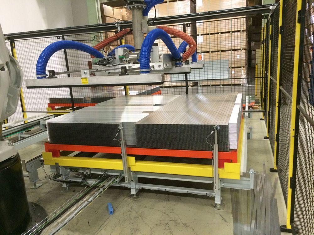 Berry Alloc automatiserer mer og mer av produksjonen.