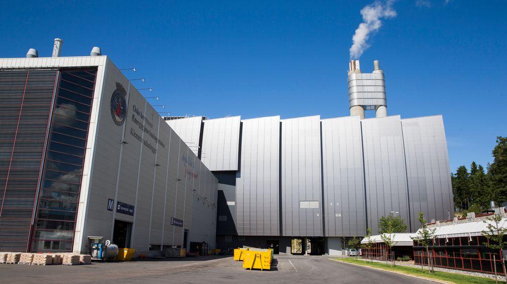 Energigjenvinningsanlegget på Klemetsrud i Oslo er ett av anleggene hvor det nå kan bli aktuelt med fangst av CO2. Anlegget inneholder et forbrenningsanlegg og et varmekraftverk.