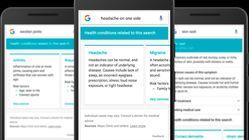 Google har gjort det lettere å finne ut av sykdomssymptomene dine