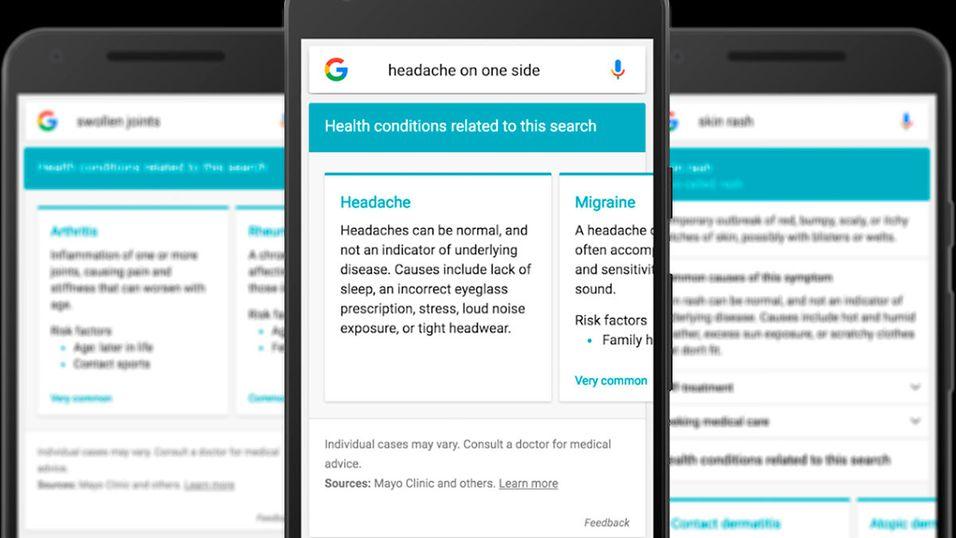 Skriv i Google hvor det gjør vondt, så skal du få opp tips om hvordan du gjør det bedre.