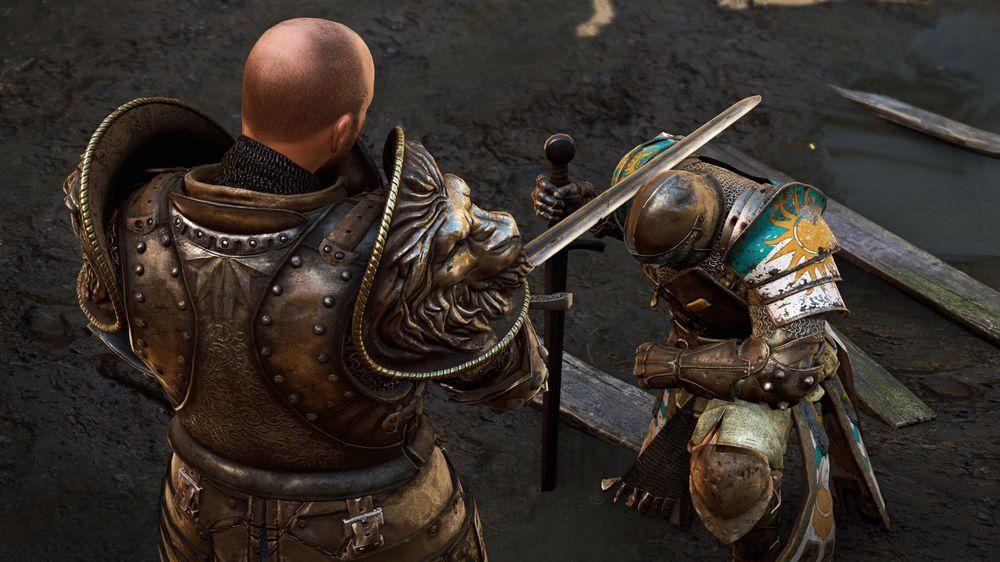 Etter ditt første slag blir du offisielt slått til ridder.