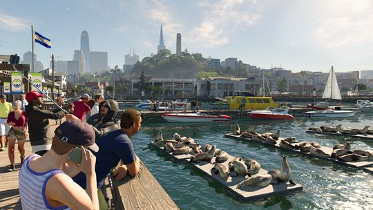 Vakre San Francisco var perfekt for Watch Dogs 2.