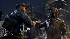 I Watch Dogs 2 møter vi hackeren Marcus Holloway (til venstre).