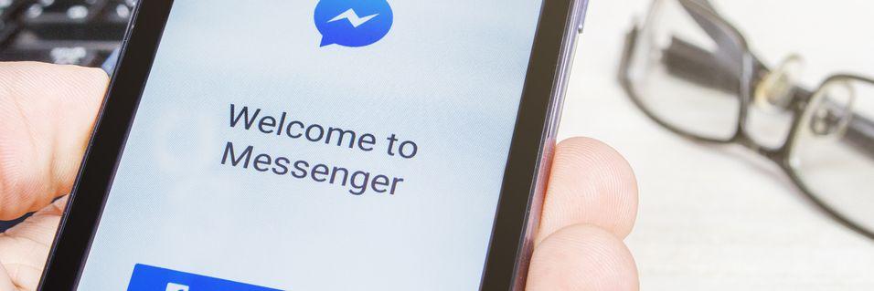 Facebook Messenger er et eksempel på en internett-tjeneste som konkurrerer med mobiloperatørenes meldingstjenester. De nordiske regulatørene maner EU til forsiktighet i eventuell regulering av nye tjenester.