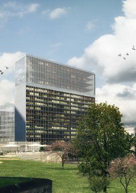 Det vil bli utlyst en arkitektkonkurranse for å avgjøre hvordan de øverste fire etasjene skal se ut.