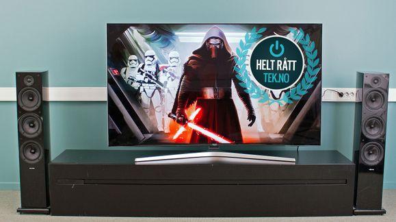 Vi har aldri testet en bedre TV enn denne