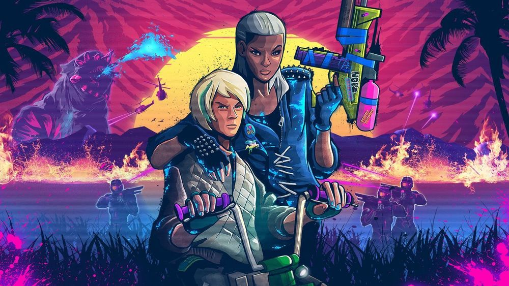 ANMELDELSE: Trials of the Blood Dragon