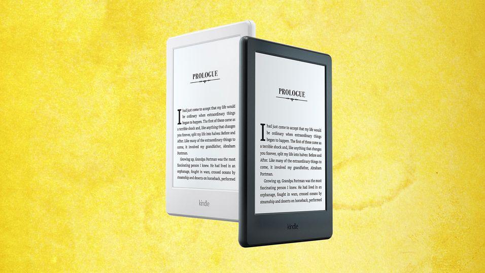 Nye Kindle kommer i både sort og hvit.