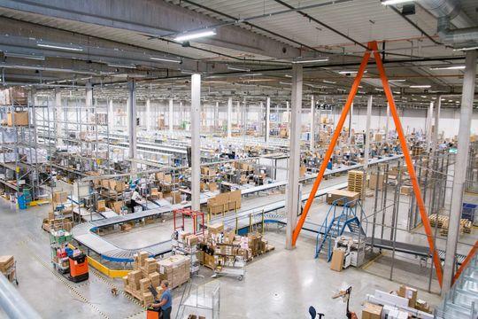 Enorm overflate: Lageret har en overflate på 20 000 kvadratmeter.