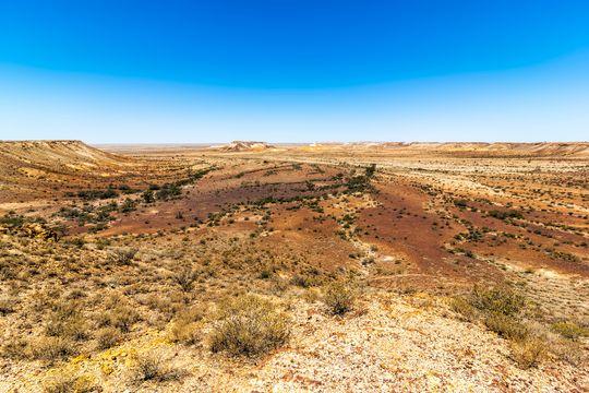 Spredtbygd: I Sør-Australia er det store spredtbygde områder som kan egne seg for deponi for brukt radioaktivt brensel.