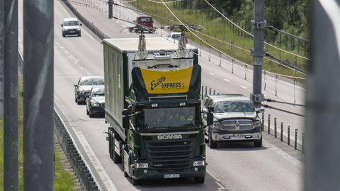 Testprosjektet Elväg E16 som åpnet i 2016, er bare et av flere svenske elvei-prosjekter.