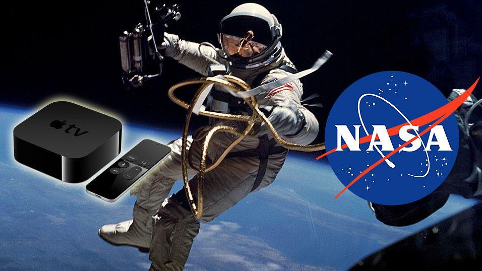 NASA slipper app til Apple TV