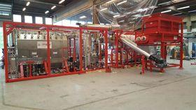 Her er prosessanlegget som ble bygget etter at verfiikasjonen på Sibir ble gjort.