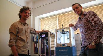 De forvandlet leiligheten til en 3D-skriverbutikk