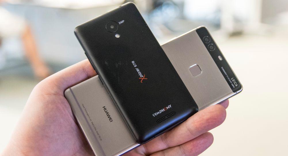 Symphony Xplorer E78 koster 370 kroner, mens telefonen bak, Huawei P9 Plus, koster over 6000 kroner. Det er mange forskjeller på disse to, men den mest avgjørende handler om batteritid.