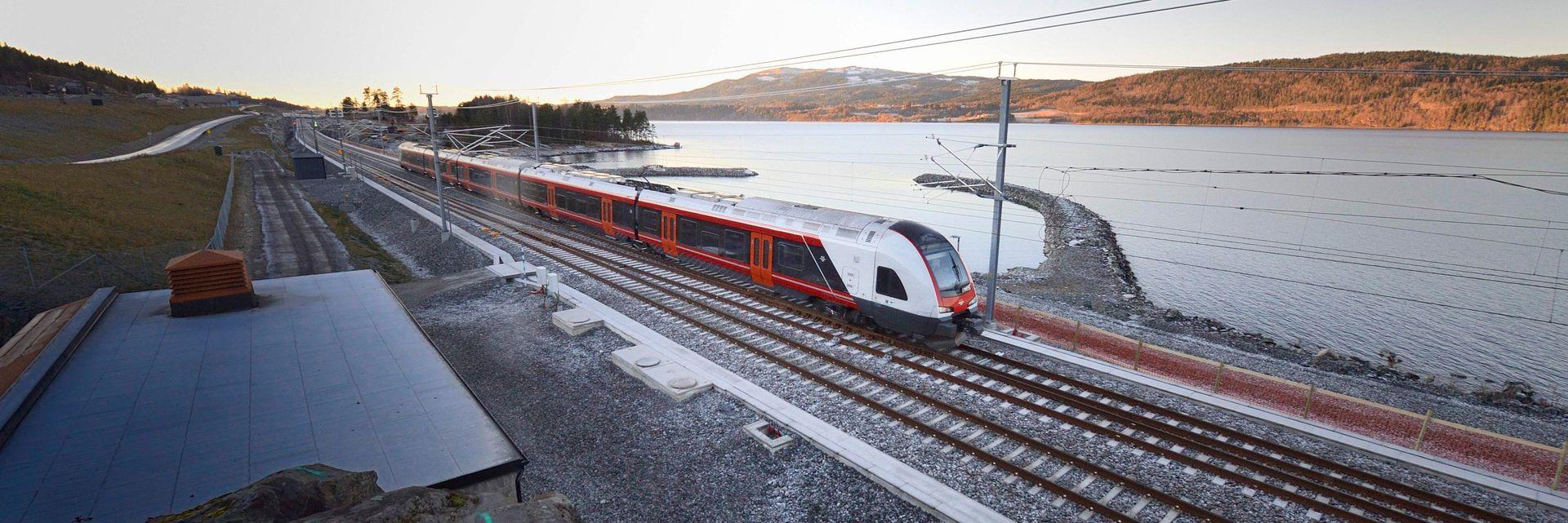 ANNONSE: Det investeres mer i norsk jernbane enn noensinne