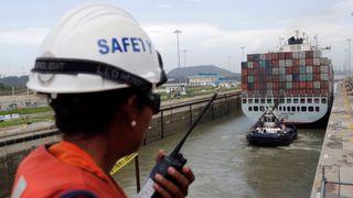 Tre skip har krasjet i Panamakanalen på én måned