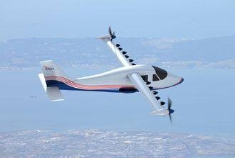X-57 slik den vil se ut om noen måneder.