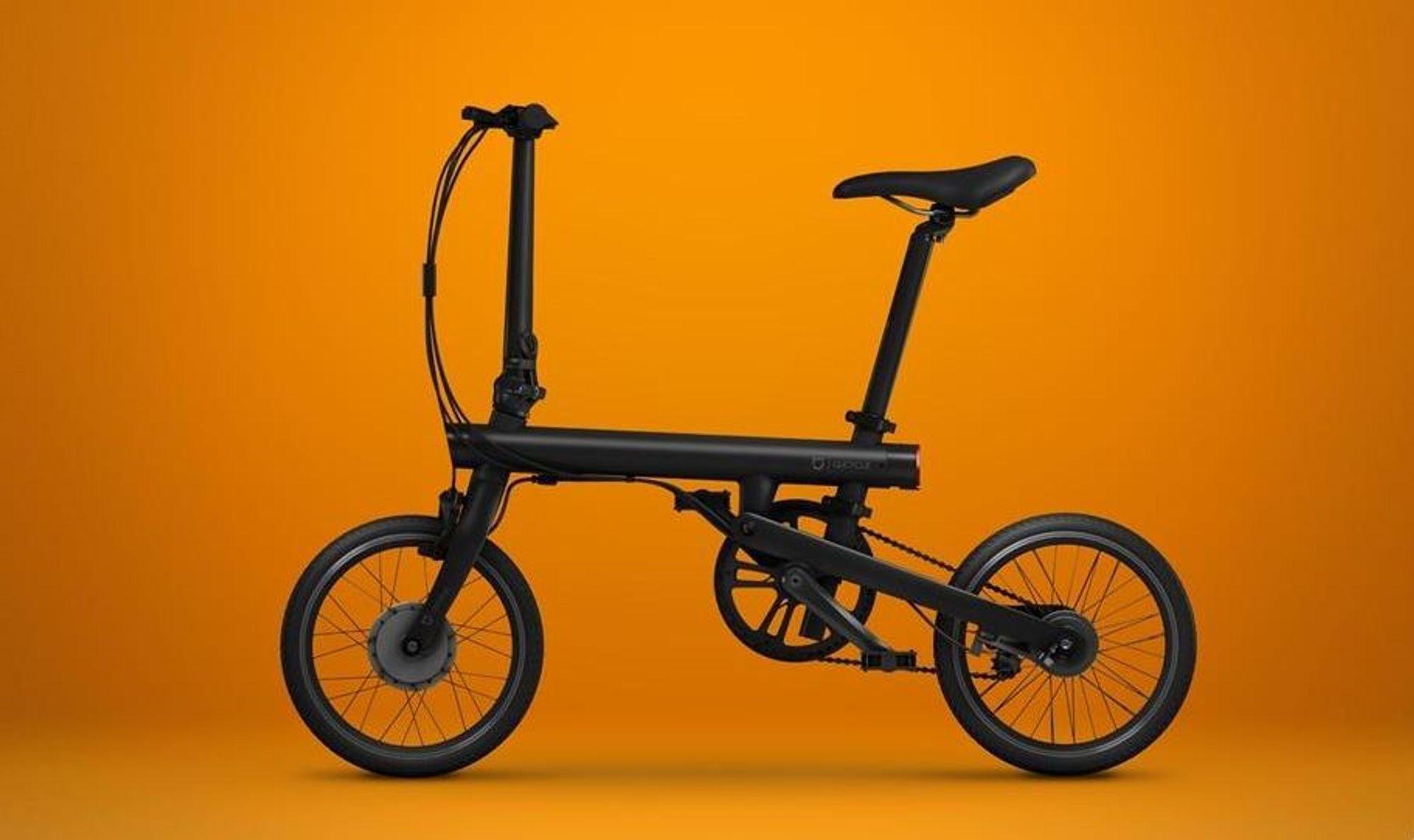 Billig: For rundt 3.900 kroner kan man bli eier av kinesiske Mi Qicycle, en sammenleggbar elsykkel rettet mot det kinesiske massemarkedet.