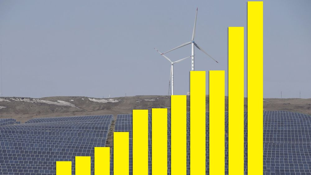 Kinas investeringer i fornybar kraft og fornybart drivstoff har gått fra 8,3 milliarder dollar i 2005 til 102,9 milliarder dollar i 2015.