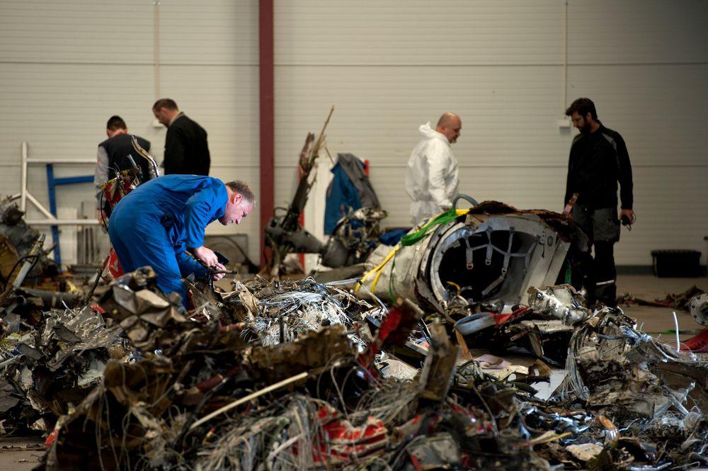 Statens havarikommisjon viste i begynnelsen av mai fram delene som helikopterdelene etter ulykken ved Turøy.