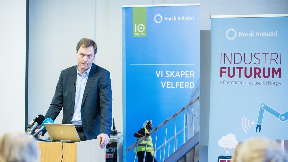 Direktør Knut E. Sunde i Norsk Industri karakteriserer det som «urovekkende» at automatiseringsgraden i er så lav i norsk industri