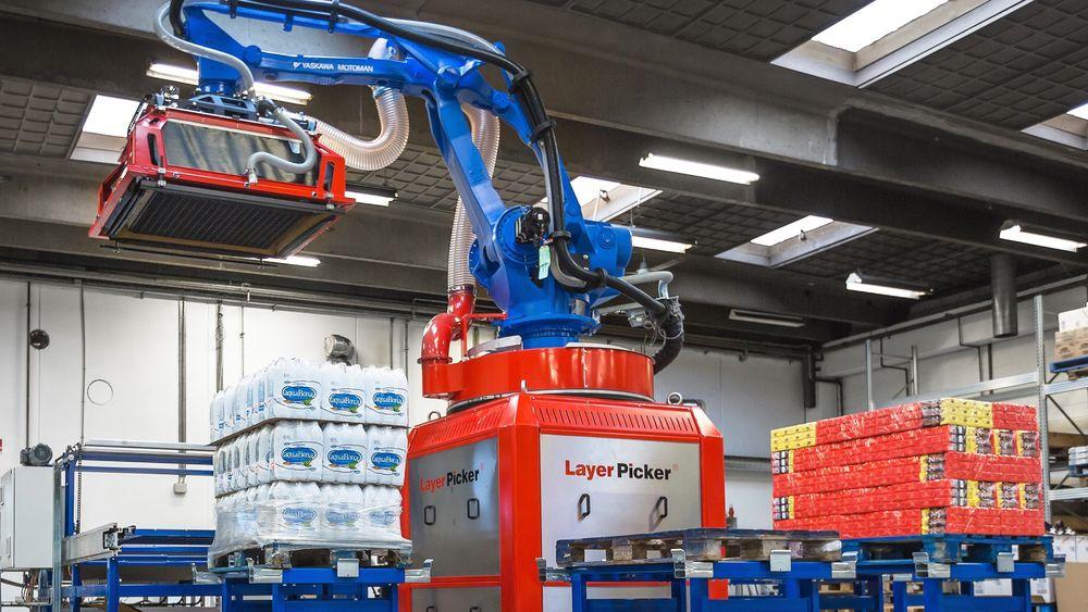 Qubiqas Layer Picker kan løfte opptil 98 prosent av alle produkttyper i matvarebransjen