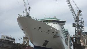 Skipsmøbler fra Møre til cruiseskip på Bahamas