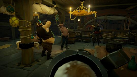I Sea of Thieves tar man gjerne en øl i godt selskap.