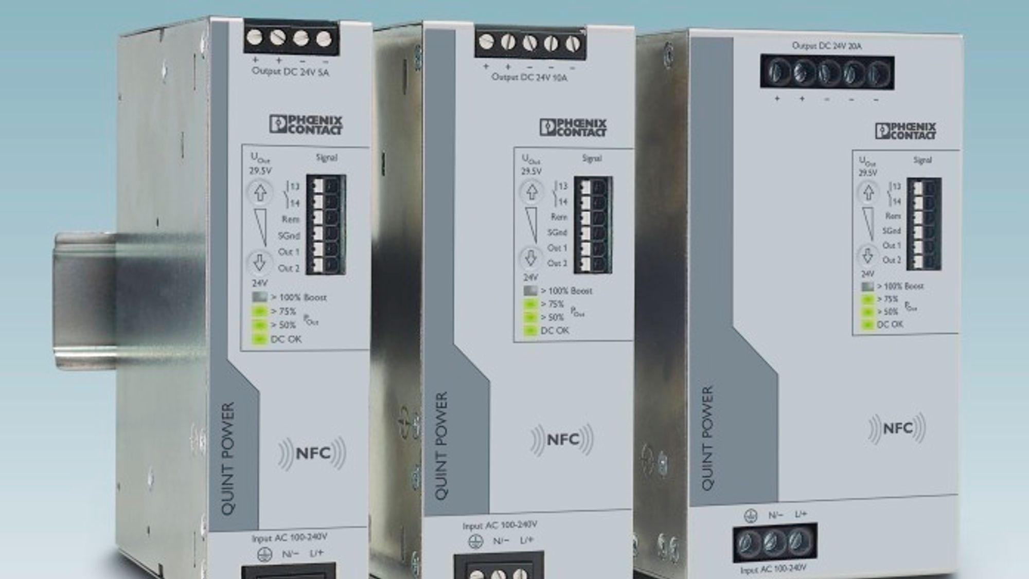 Stromforsyning Phoenix Contact