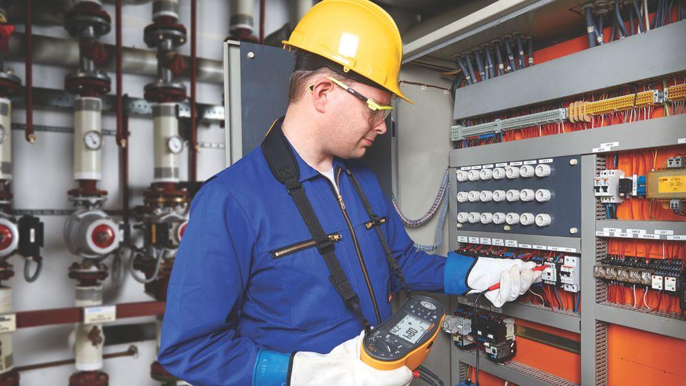 Fluke 1664 FC installasjonstester