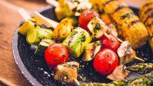 Grønnsaker er strålende grillmat