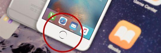 Fingeravtrykksleseren i iPhone 7 kan være en stillestående plate i stedet for en knapp.