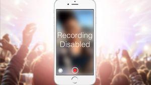 Slik skal infrarøde kameraer stoppe deg fra å filme konserter