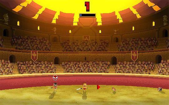 Gladiatorkamper.