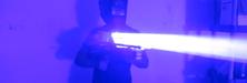 Han bygde sin egen hjemmelagde «laser-bazooka»