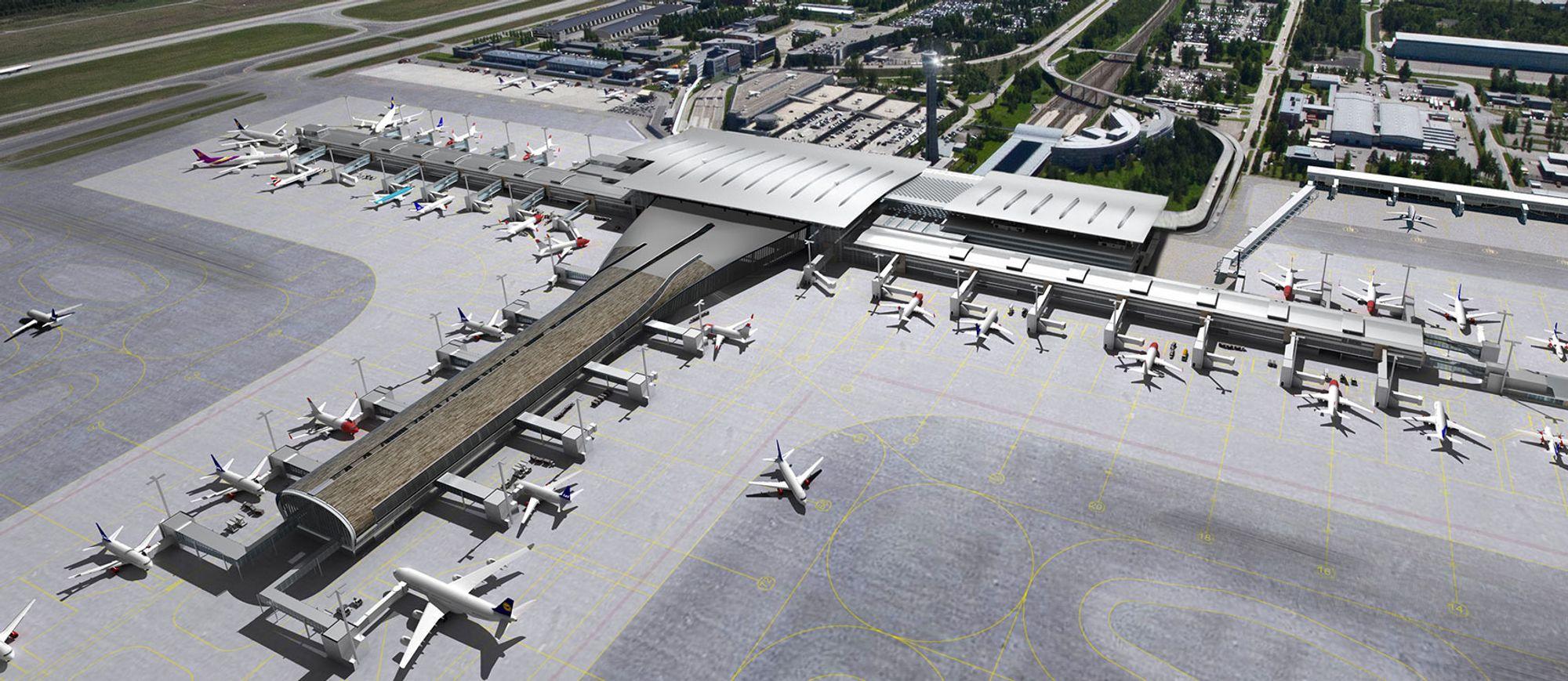 Oslo Lufthavn, T2