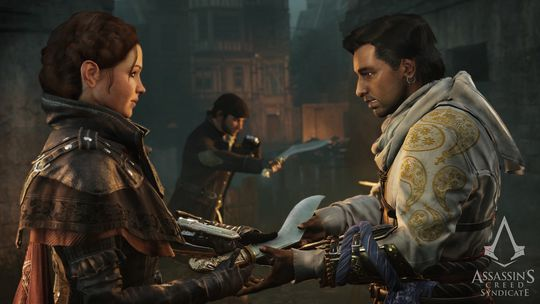 Da Ubisoft slapp Assassin's Creed: Unity, hevdet de at det var altfor mye arbeid med å lage kvinnelige, spillbare figurer, noe de fikk mye kjeft for. I oppfølgeren Syndicate fikk de det til likevel, og det til gagns.