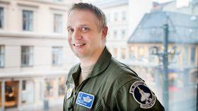 Martin Tesli har vært på en kort sommerferie hjemme i Norge før han drar via RIAT i England og tilbake til Luke AFB i USA.