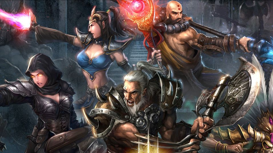 Konseptkunst fra Diablo III