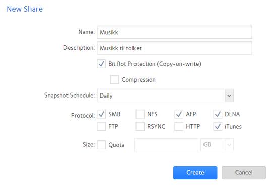 ReadyNAS OS 6 gir deg flere måter å sikre dataene dine på.