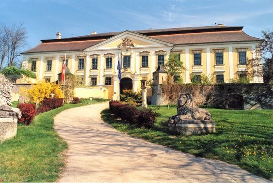 Gobelsburg slott.
