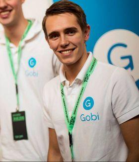App-gründer Kristoffer Lande flyttet til USA for å få fart på selskapet Gobi.