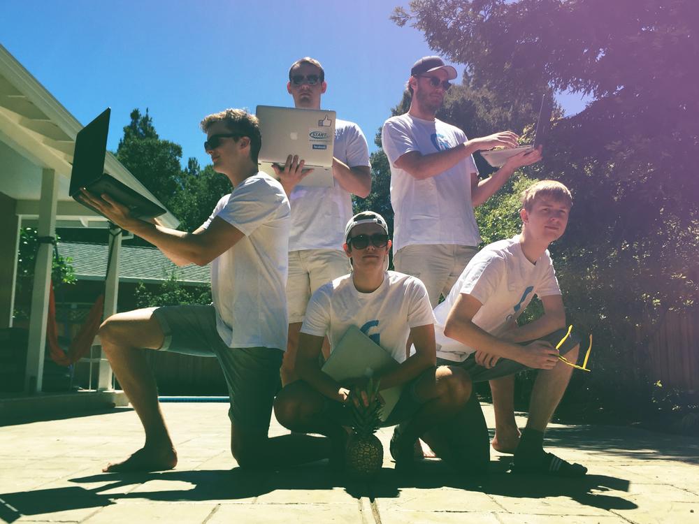 Andreas Øgaard, Morten Stulen, Kristoffer Lande, Lars Erik Fagernæs og Kristian Rekstad har flyttet til USA for å få fart på Gobi-eventyret.