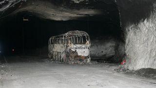 Havarikommisjonen kritiserer brannsikkerheten i tunneler - kommer med fem råd